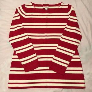 NWOT B1G1 J Crew Striped Sweater